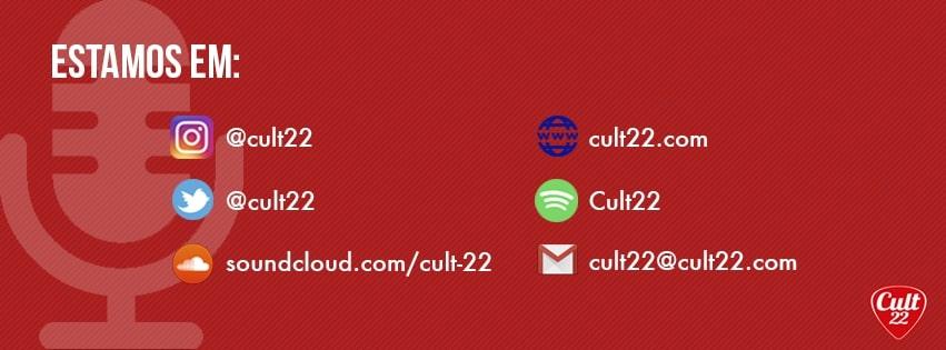 Cult 22 - Banner com redes sociais