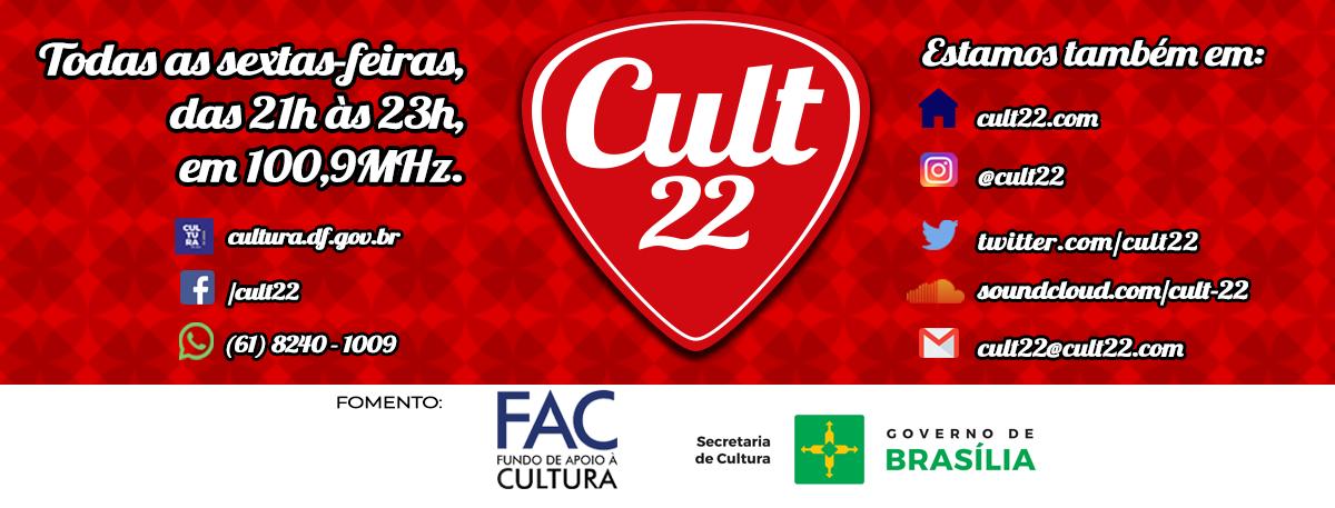 Cult 22 - Face Cult 22 (com FAC e redes sociais)